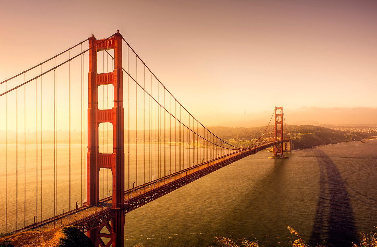 sunrise pictures golden gate - HD1269×832