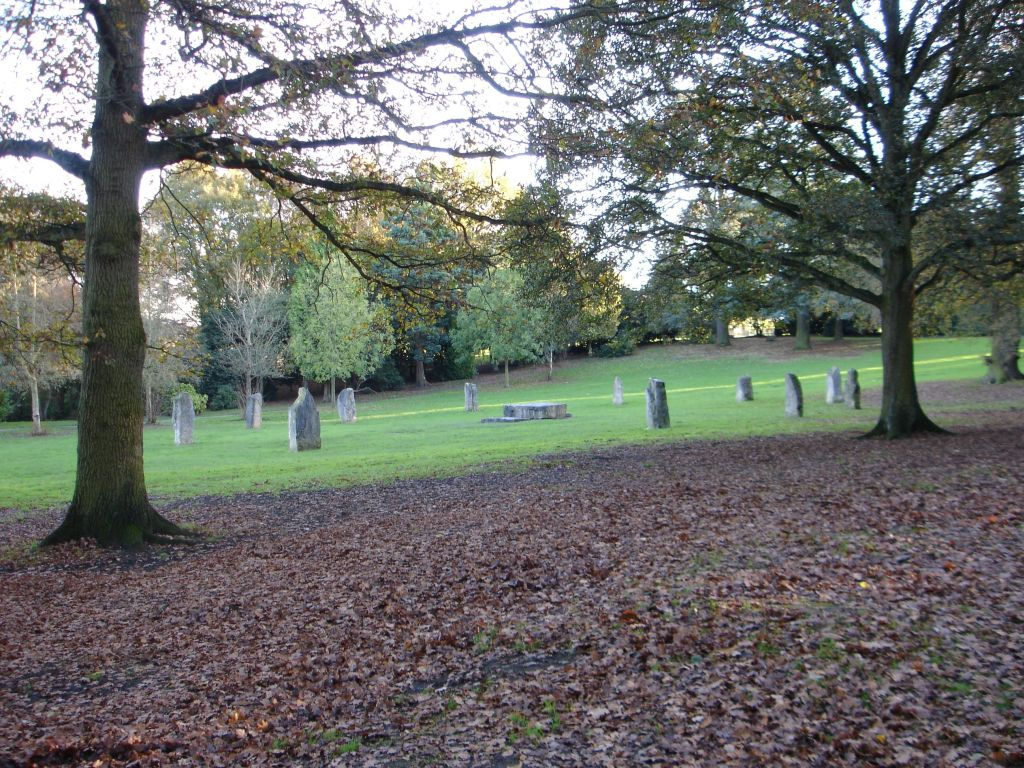 File Gorsedd Stones Acton Park Wrexham Jpg Wikimedia Commons