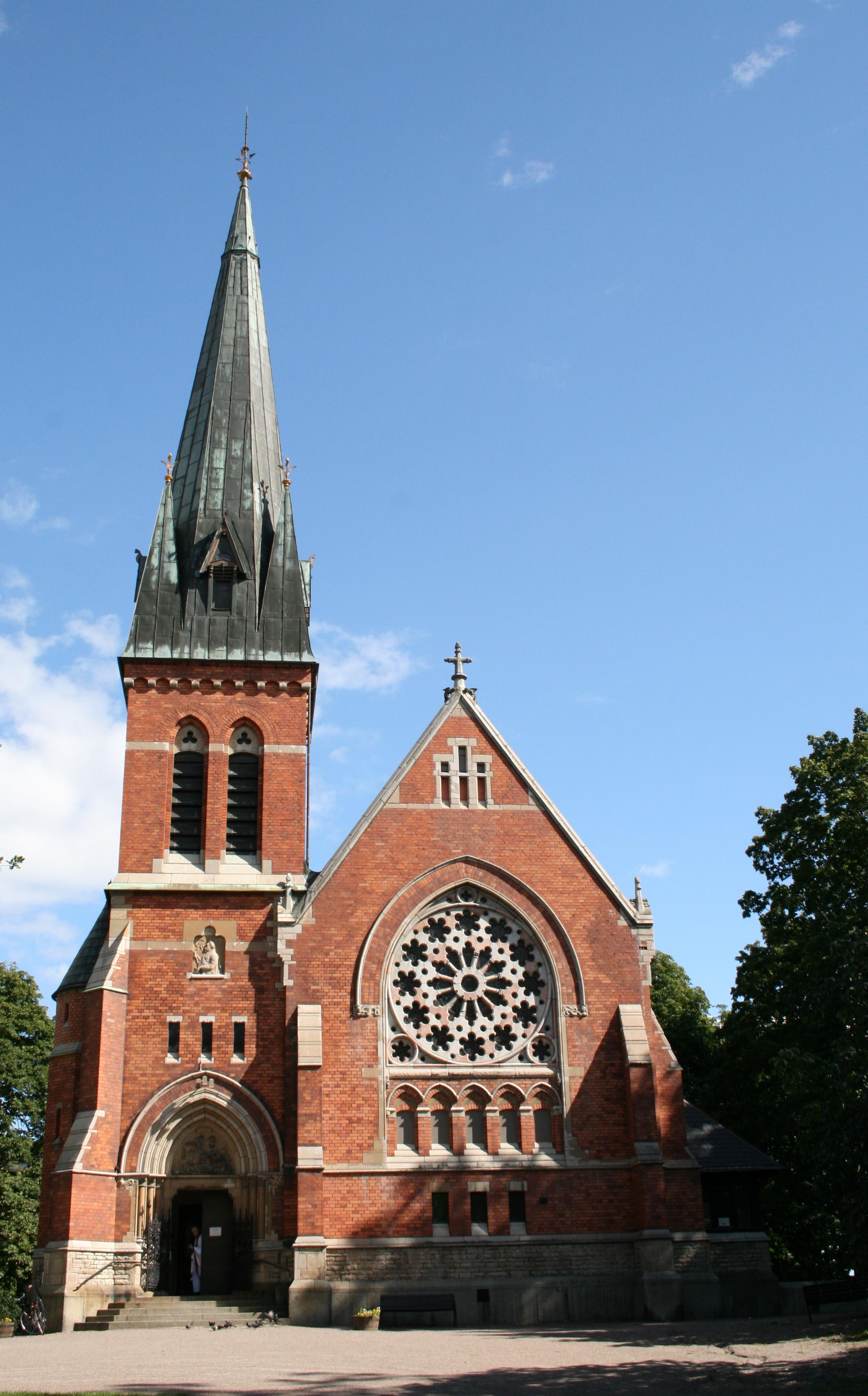 Bild av Gustaf Adolfskyrkan