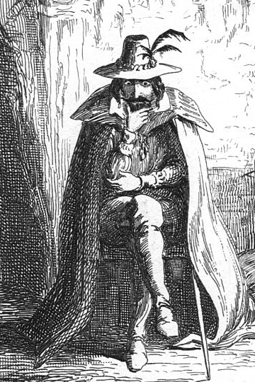 """Guy Fawkes in Ordsall Cave"""