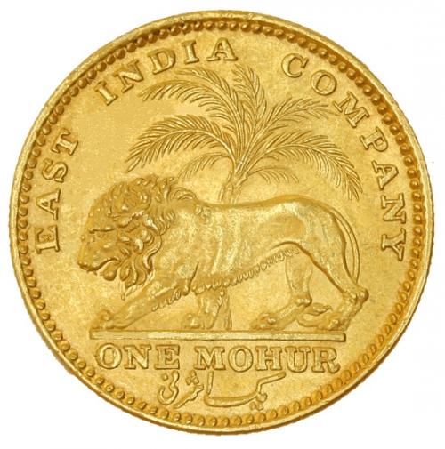 mohur gold coin price