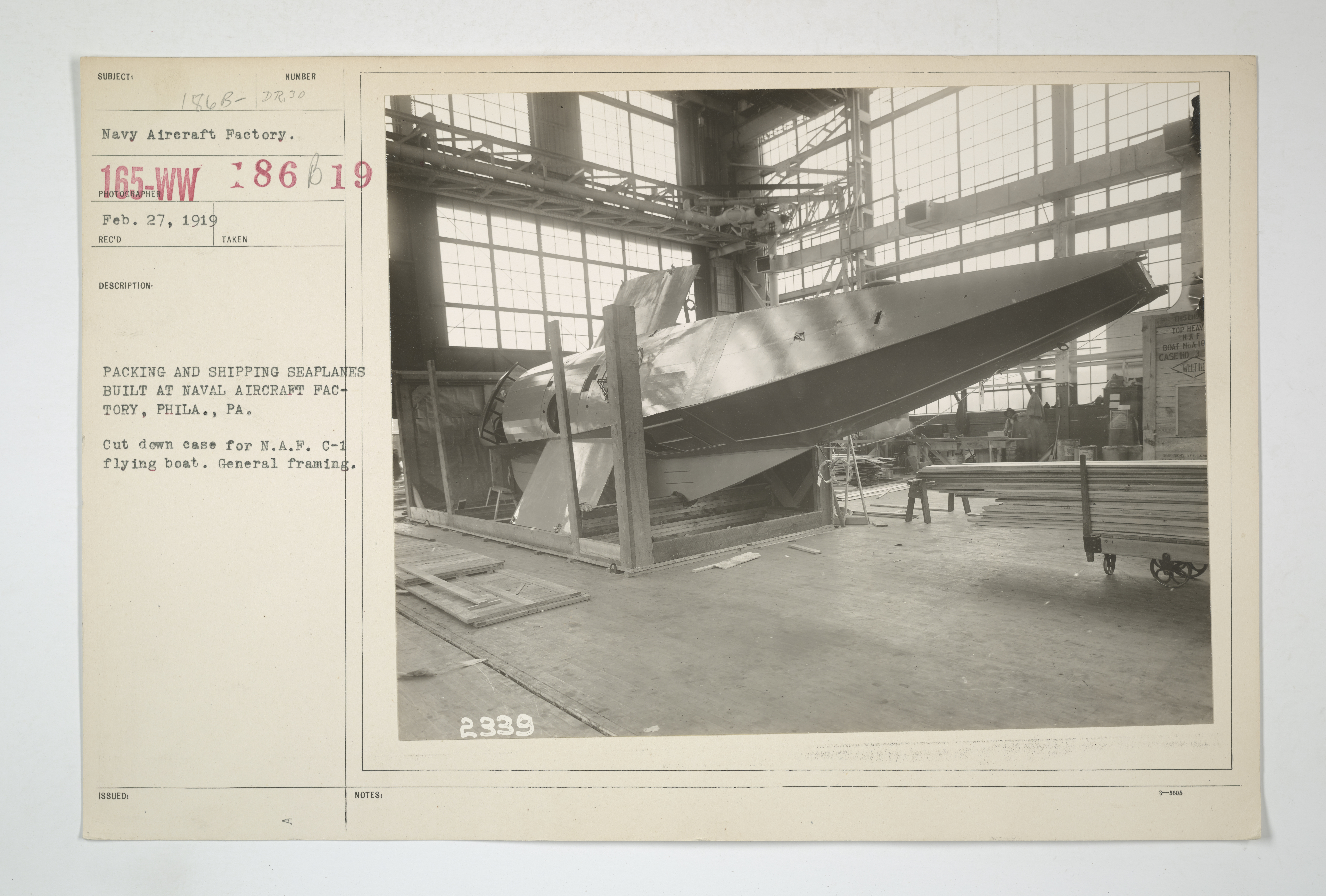 File:Hydroplanes - Types - Model C at NAF - PACKING AND SHIPPING ...