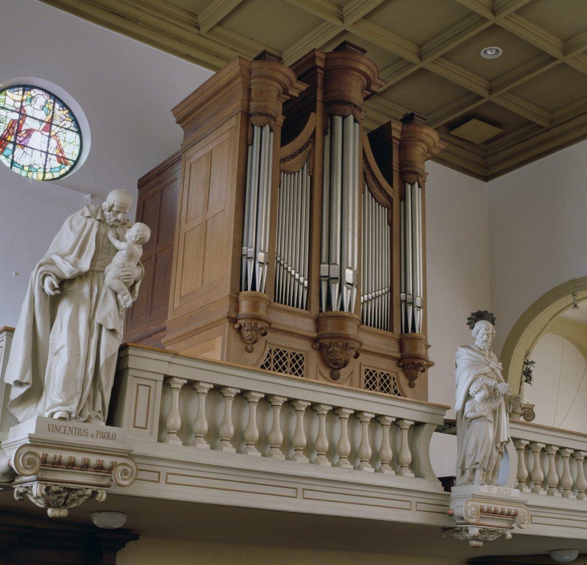 fileinterieur aanzicht orgel orgelnummer 134 beek 20349113 rce