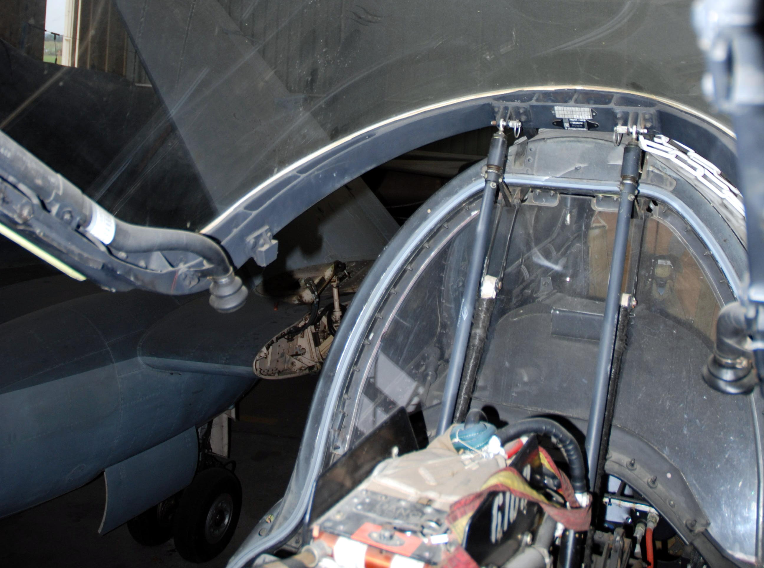 filejaguar cockpit canopy actuator detail muse de laviation clment ader - Open Canopy 2016