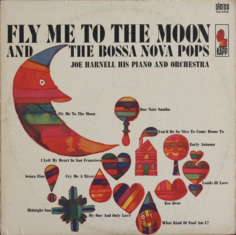 Fly Me To The Moon Chart: Joe Harnell Fly Me To The Moon Kapp KS3318 Front Cover 1 ,Chart