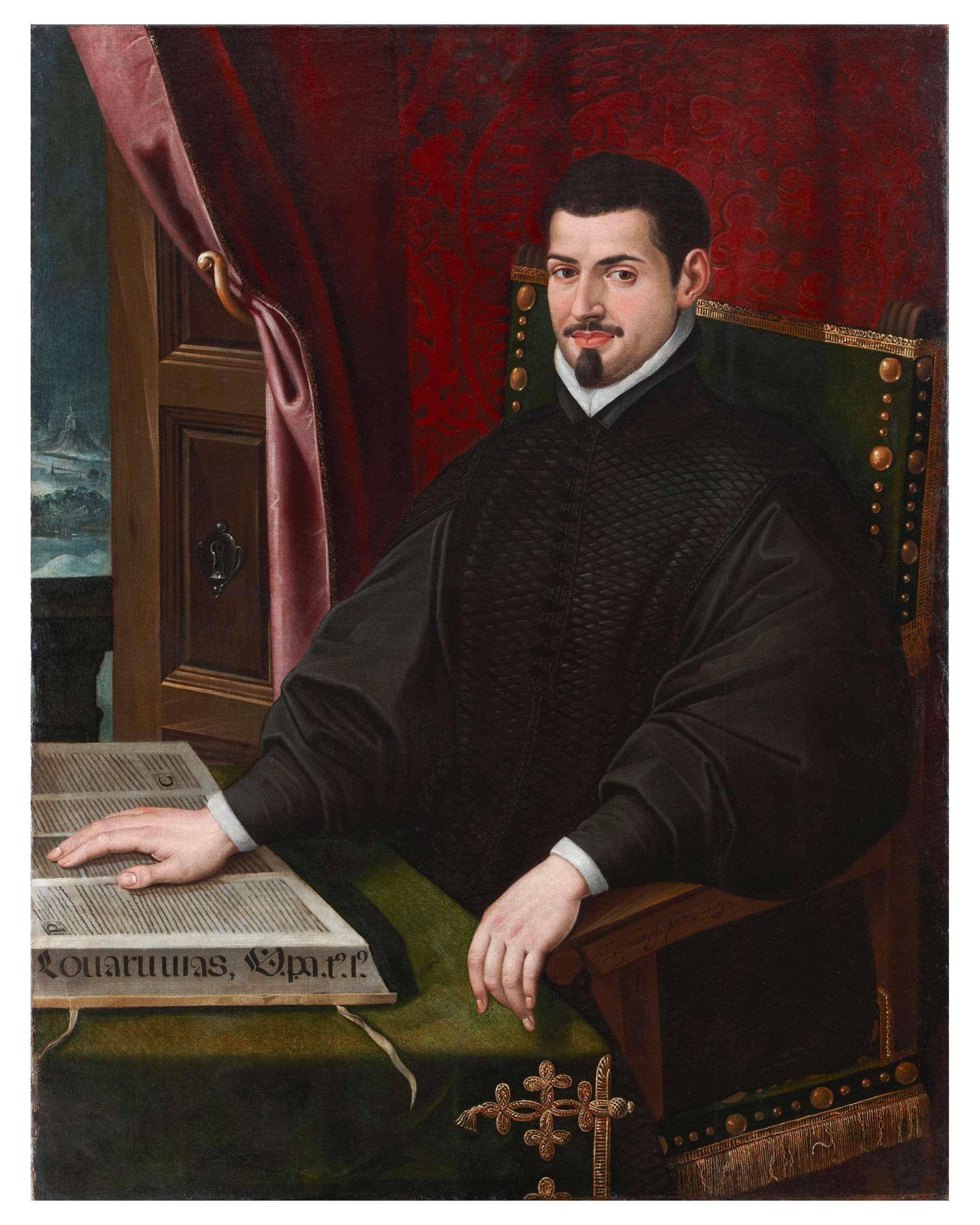 ''Portrait of Sebastián de Covarrubias'', by [[Juan Bautista de Espinosa