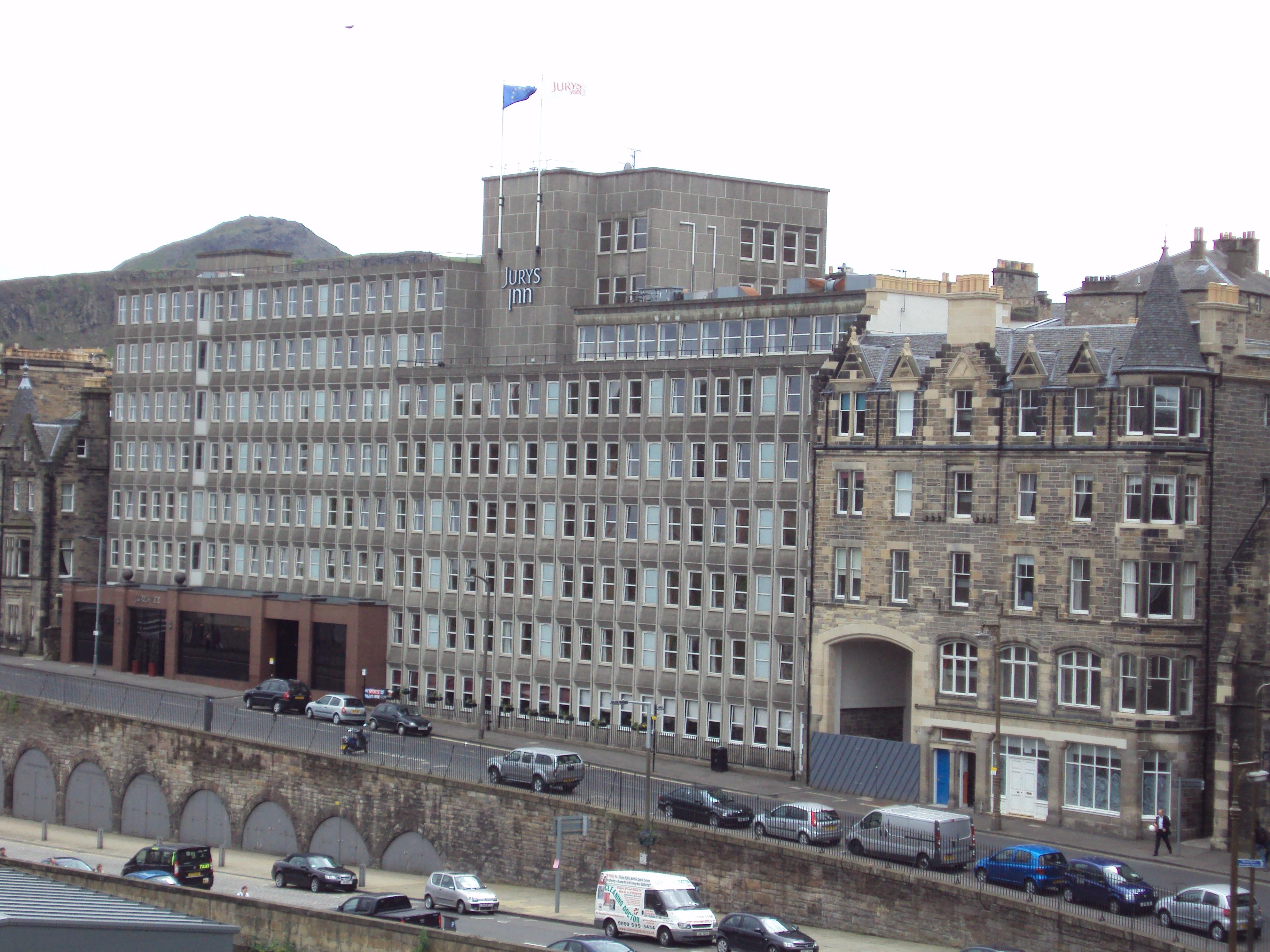 Image Gallery Jurys Inn Edinburgh Hotel