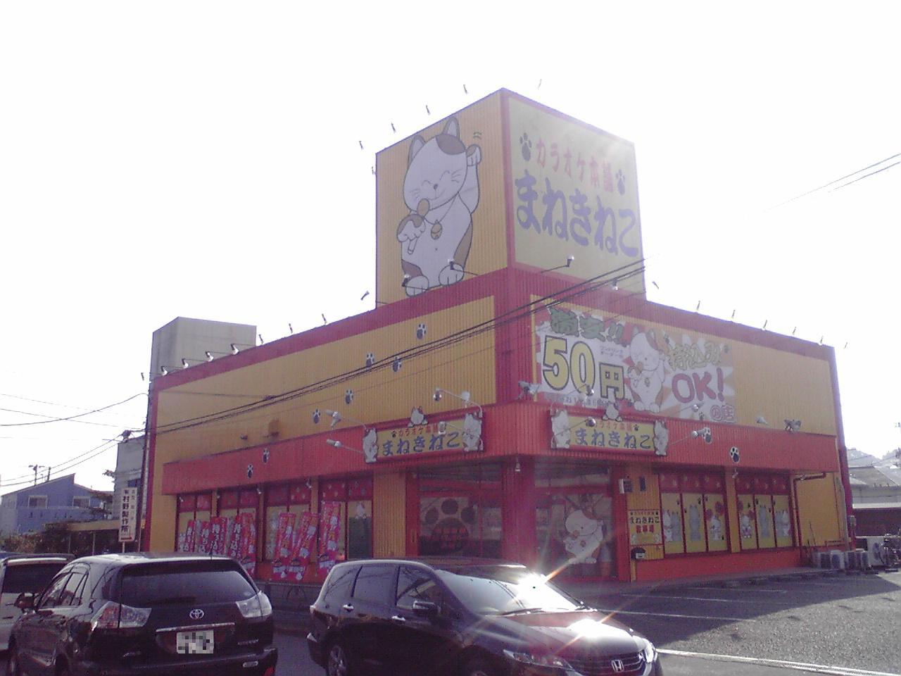 Karaoke hompo manekineko machida tsurukawa shop