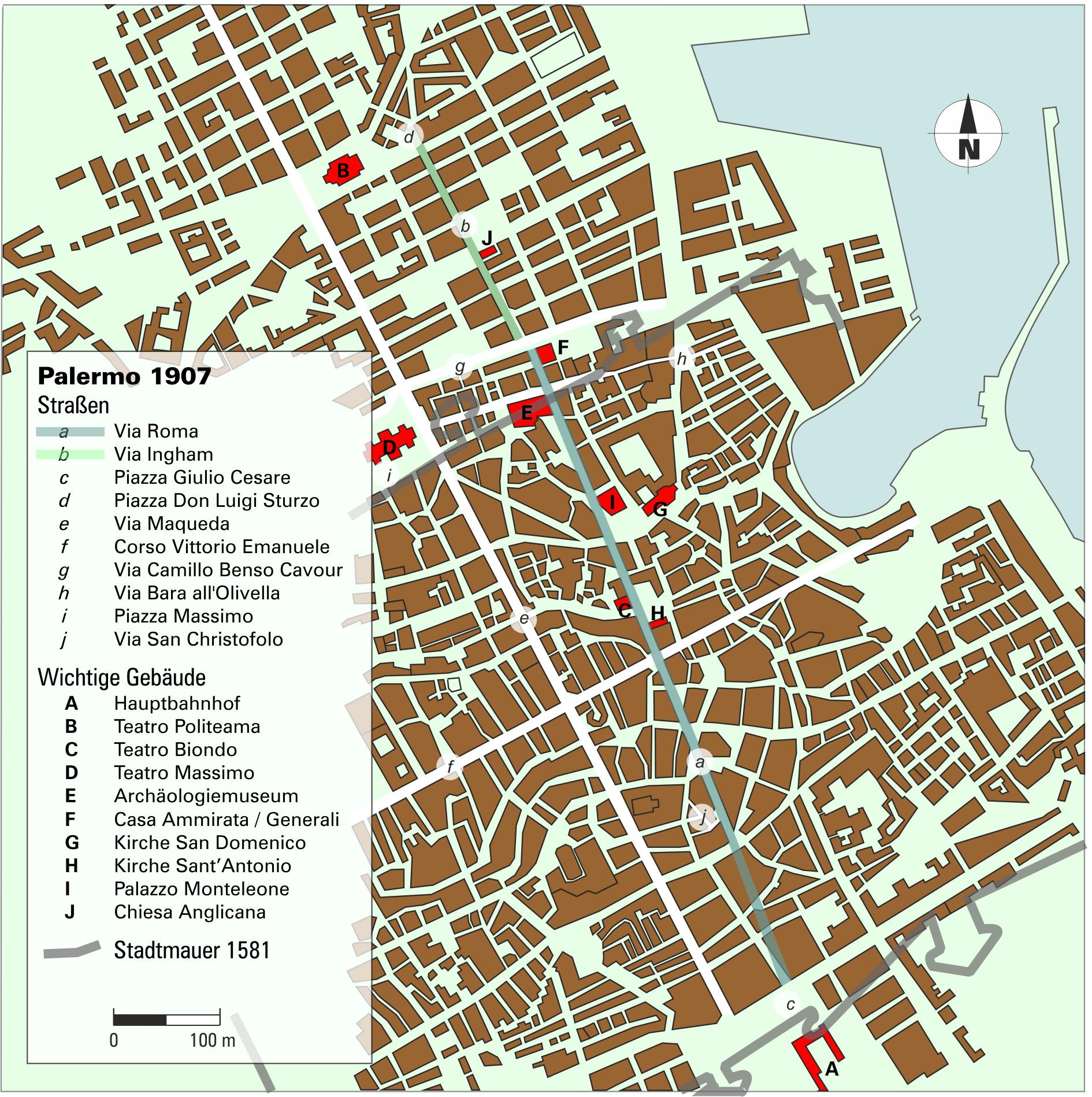 palermo karte File:Karte Via Roma (Palermo).png   Wikimedia Commons