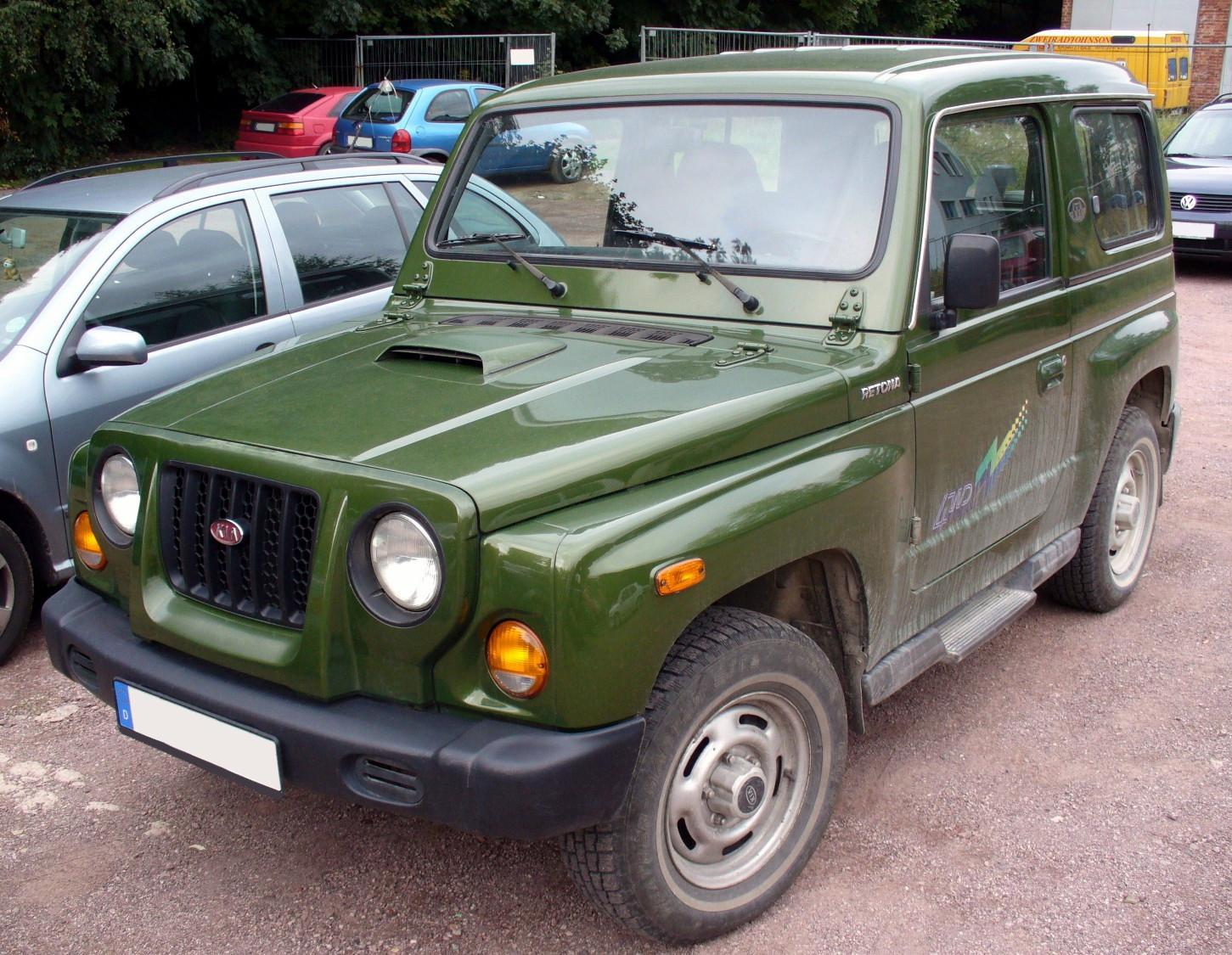Jeep Wrangler Diesel >> Kia Retona – Wikipedia, wolna encyklopedia