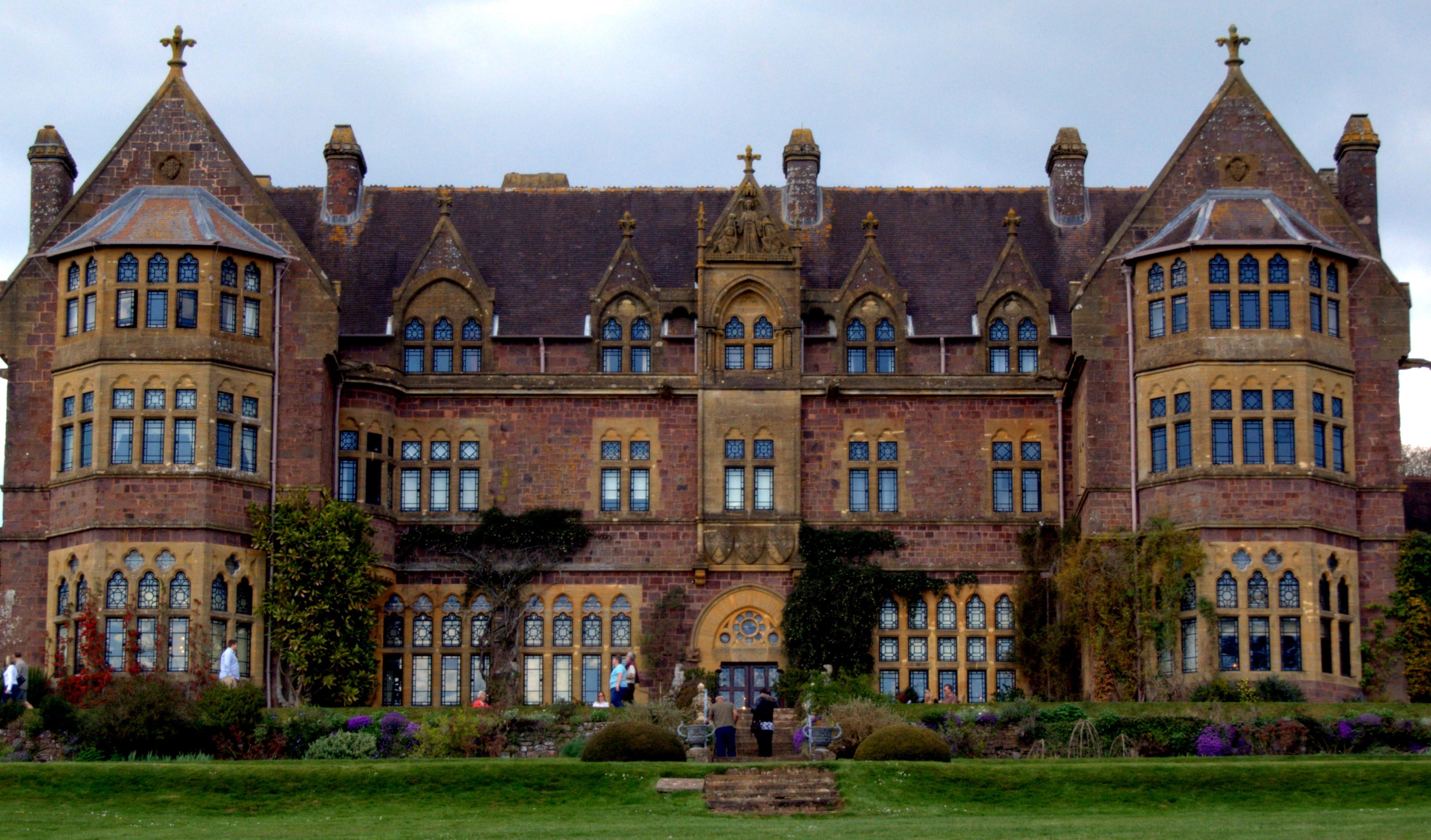 File Knightshayes Court Near Tiverton Devon England