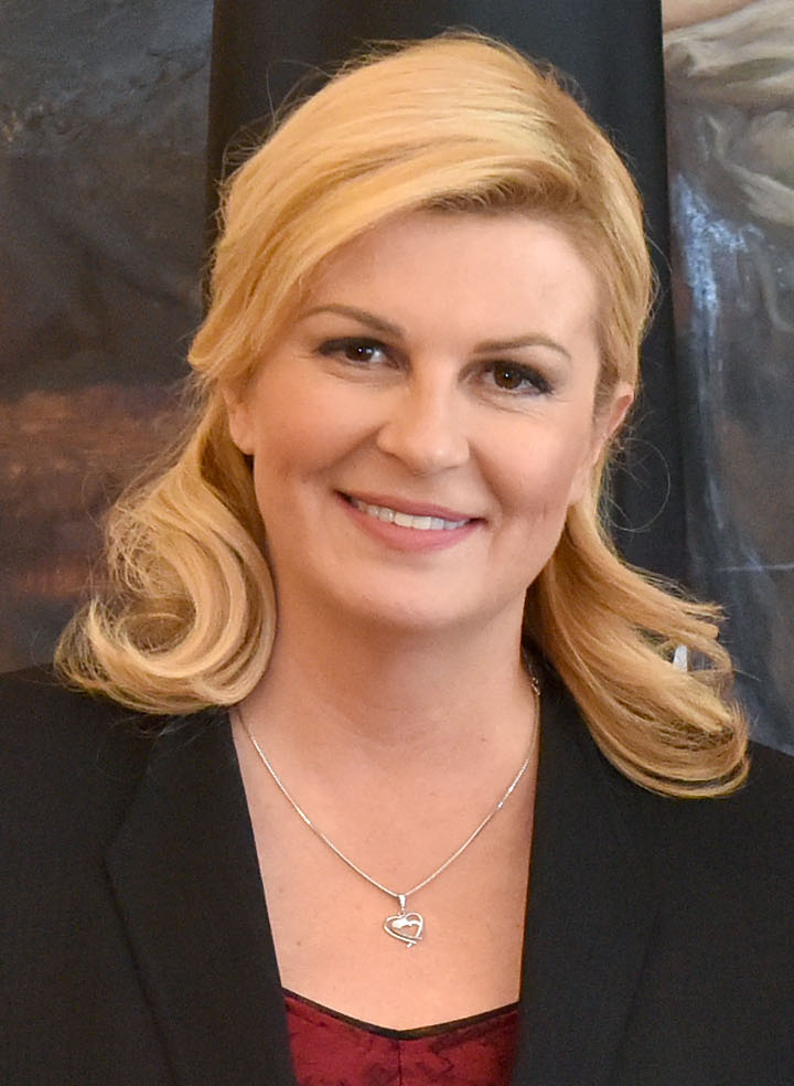 The 52-year old daughter of father Branko Grabar and mother Dubravka Grabar Kolinda Grabar-Kitarovic in 2020 photo. Kolinda Grabar-Kitarovic earned a million dollar salary - leaving the net worth at 100 million in 2020