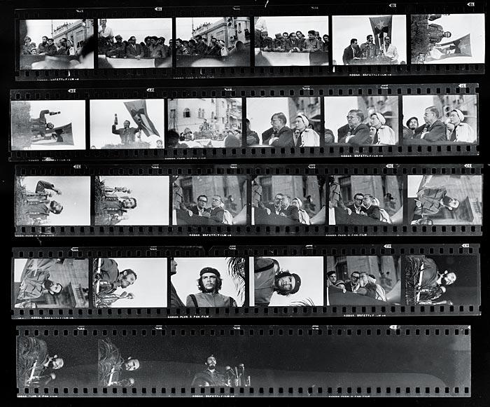 Kordas Kontatabzüge vom 5. März 1960 | Bildquelle: https://de.wikipedia.org/wiki/Alberto_Korda © Gemeinfrei | Bilder sind in der Regel urheberrechtlich geschützt