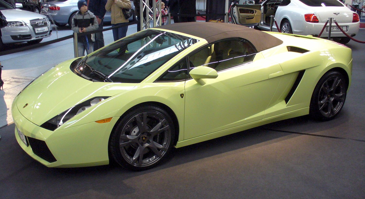Lamborghini Gallardo Spyder Car Cover