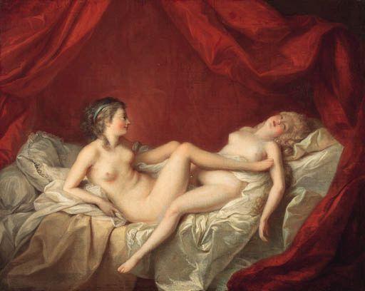 Les Deux Amies by Lagrenee