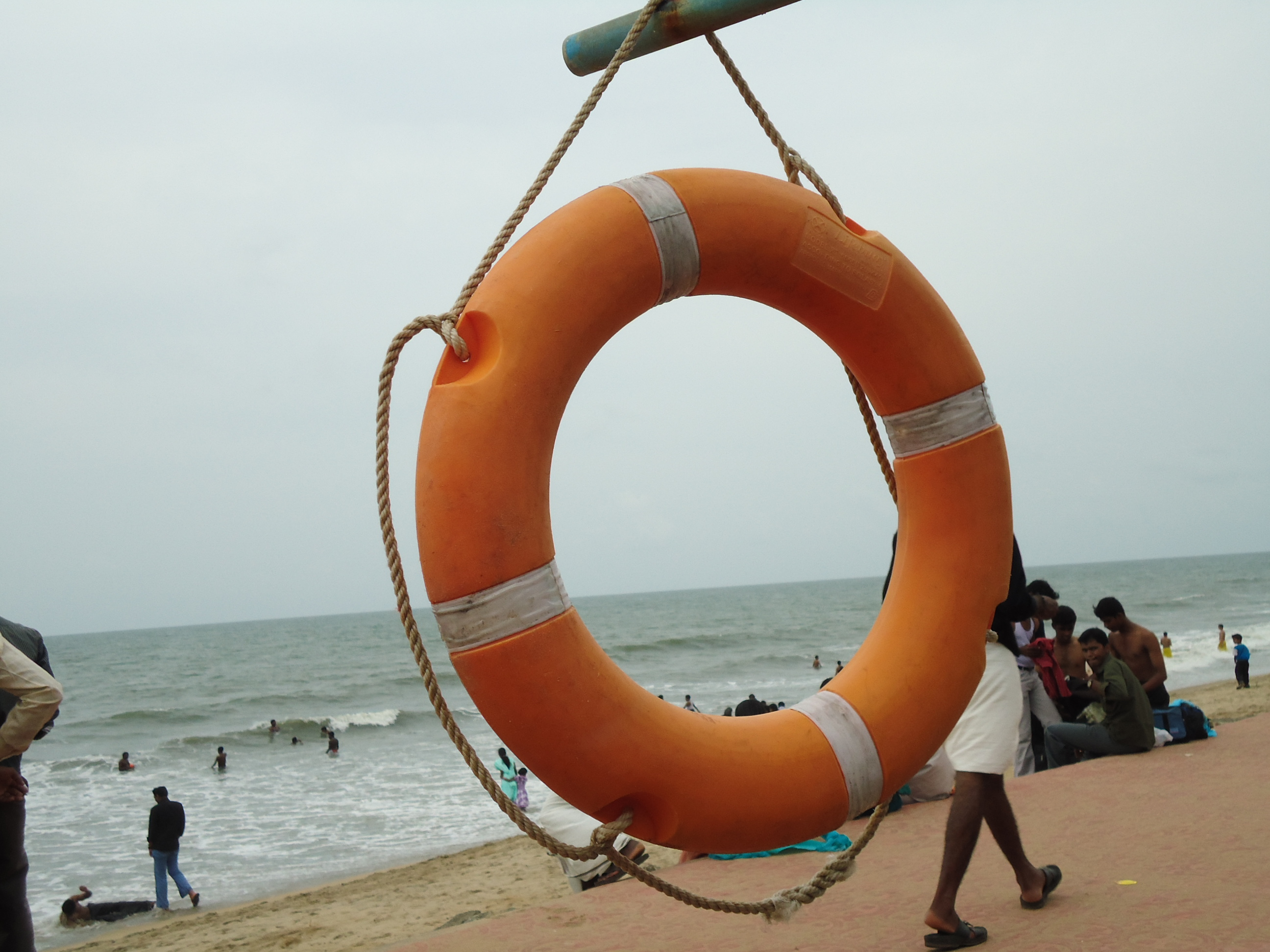 File Life Jacket At Cherai Beach Jpg Wikimedia Commons