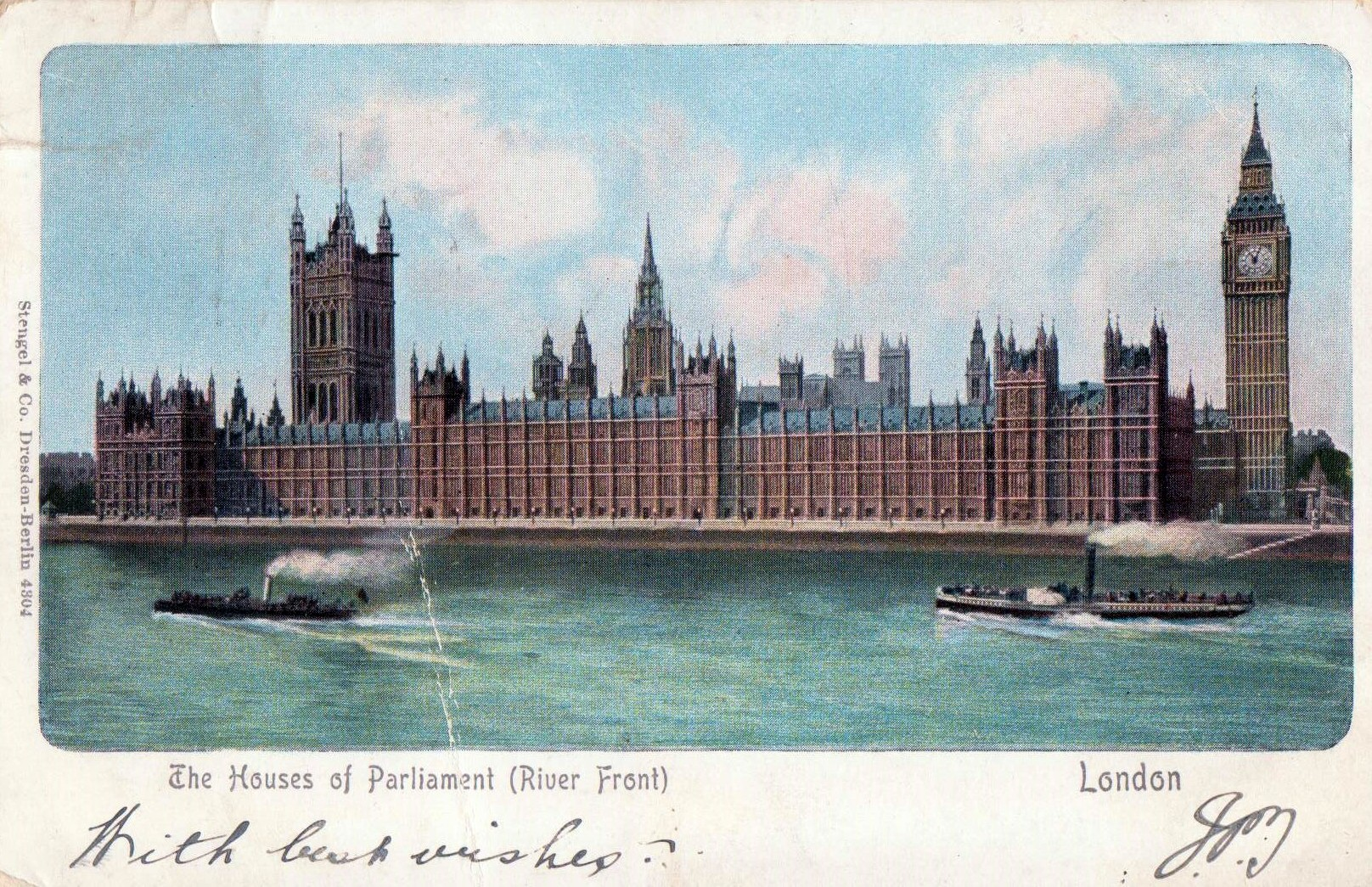 Parliament Postcard 1910