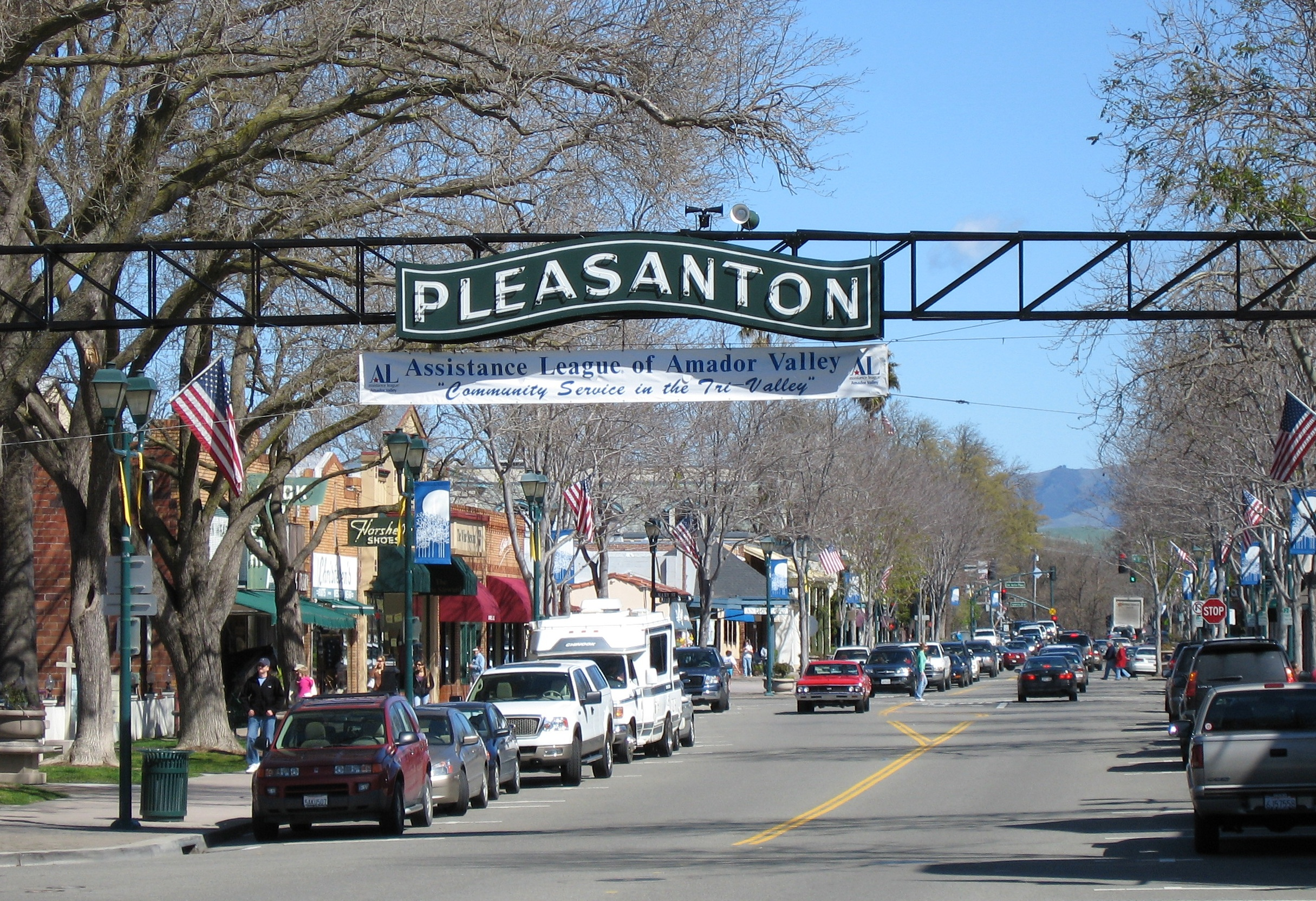 pleasanton california up and coming small towns