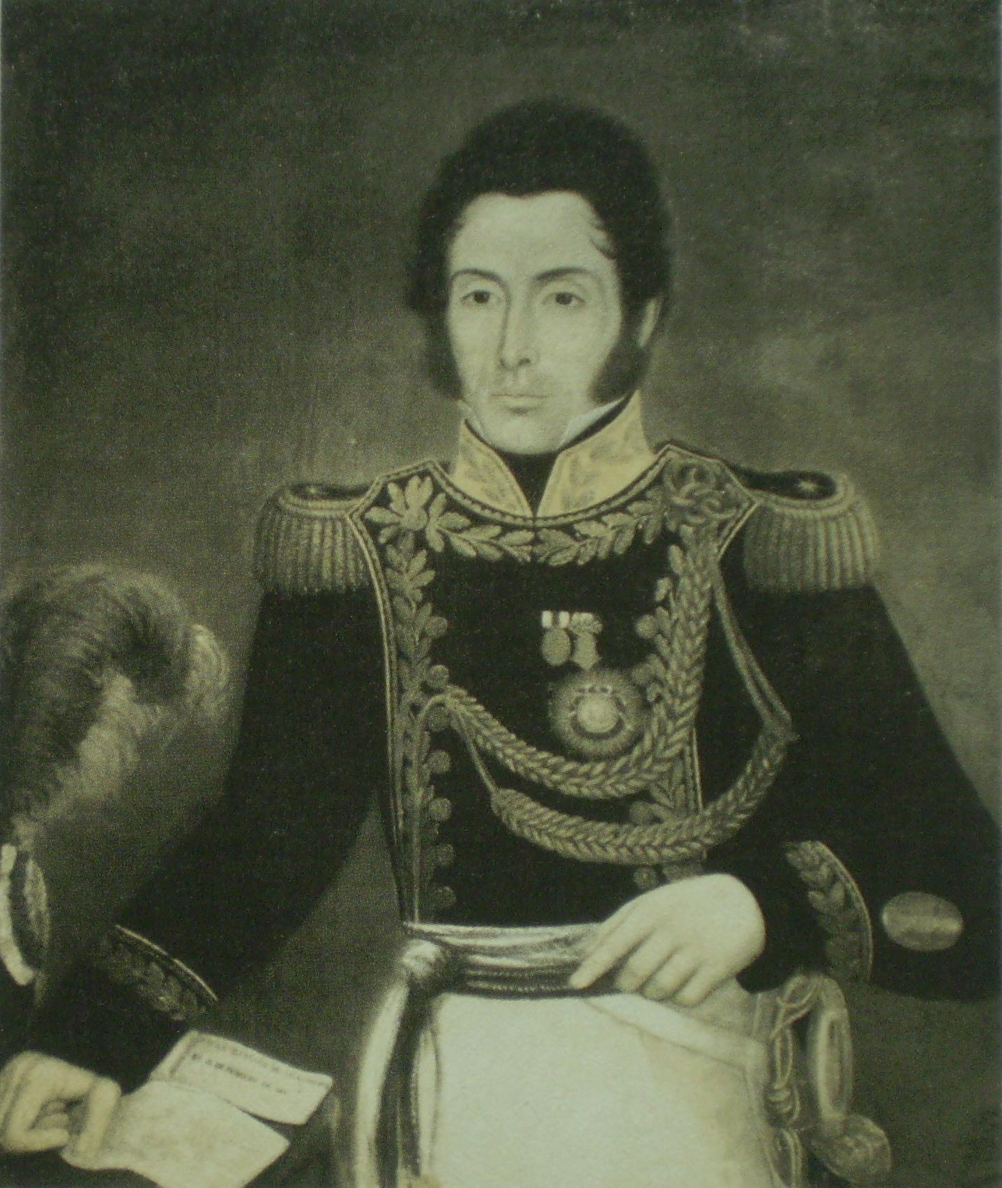 Depiction of Miguel Estanislao Soler