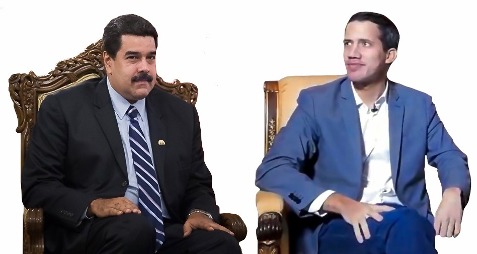 Maduro and Guaidó seated.png