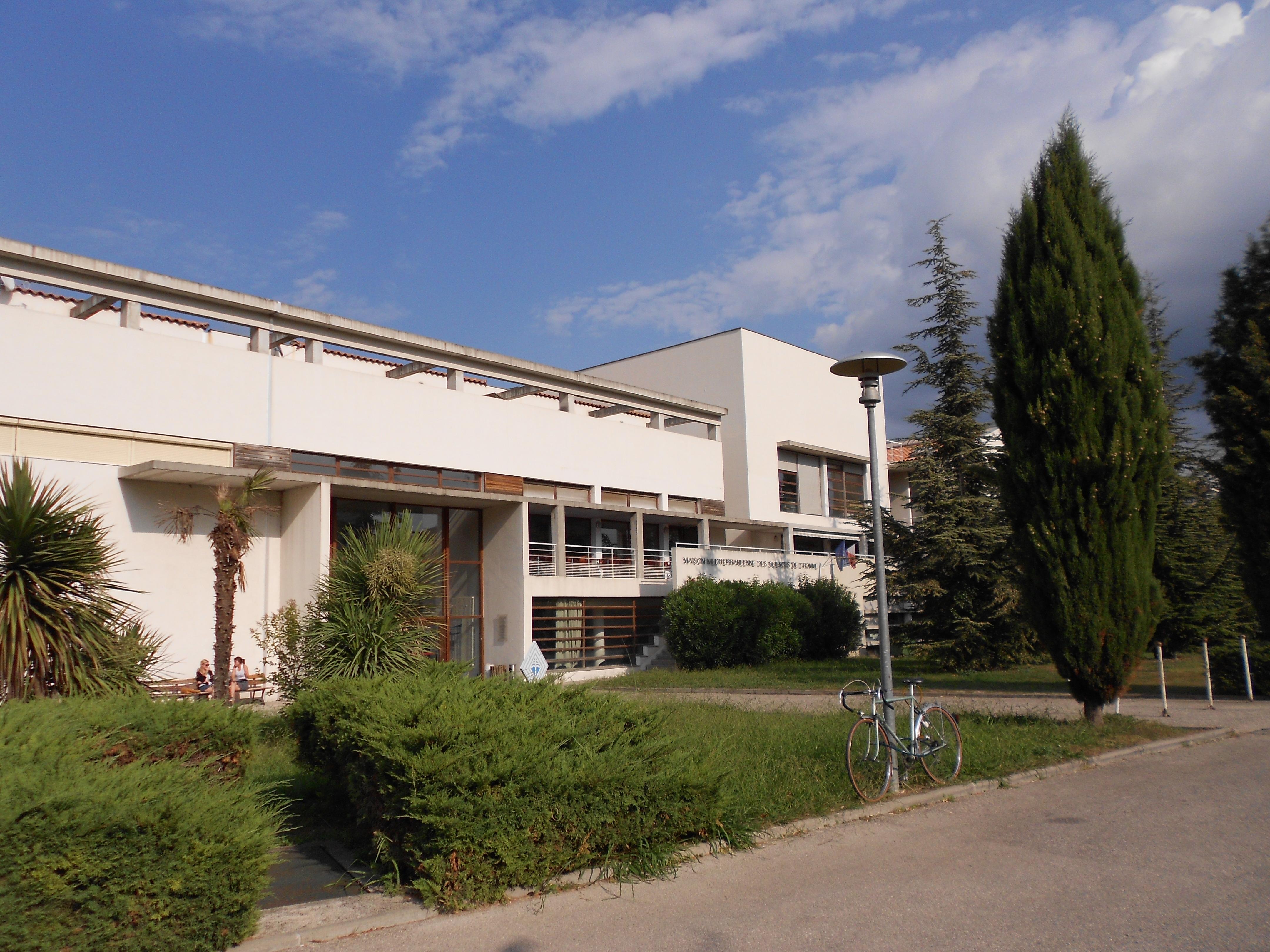 Photo Maison Mediterraneenne fichier:maison méditerranéenne des sciences de l'homme à aix-en