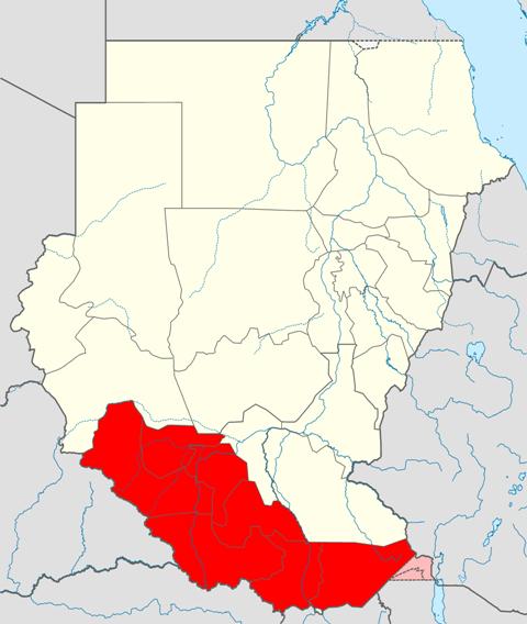 エカトリア地方地図