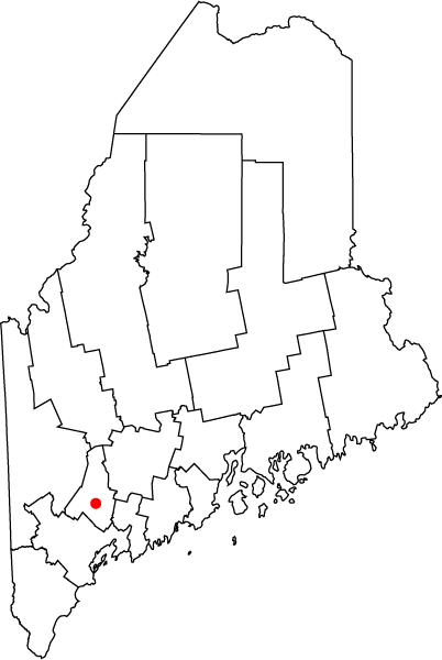 FileMap of Maine highlighting Lewistonpng Wikimedia Commons
