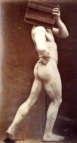Gaudenzio Marconi (1841-1885), Nudo maschile a...