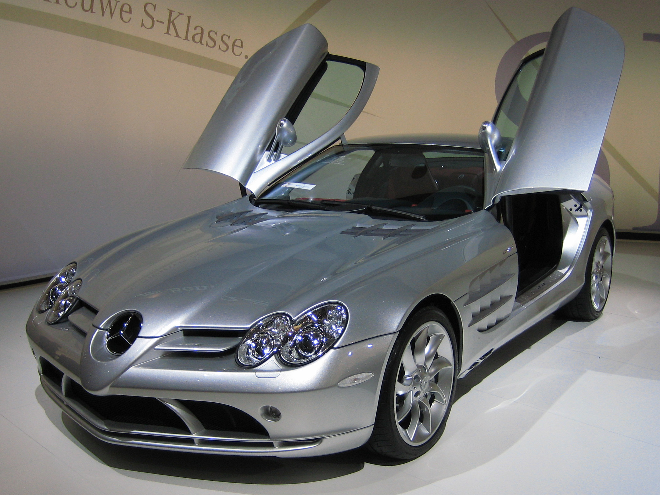 File:Mercedes Benz SLR McLaren 2 Cropped
