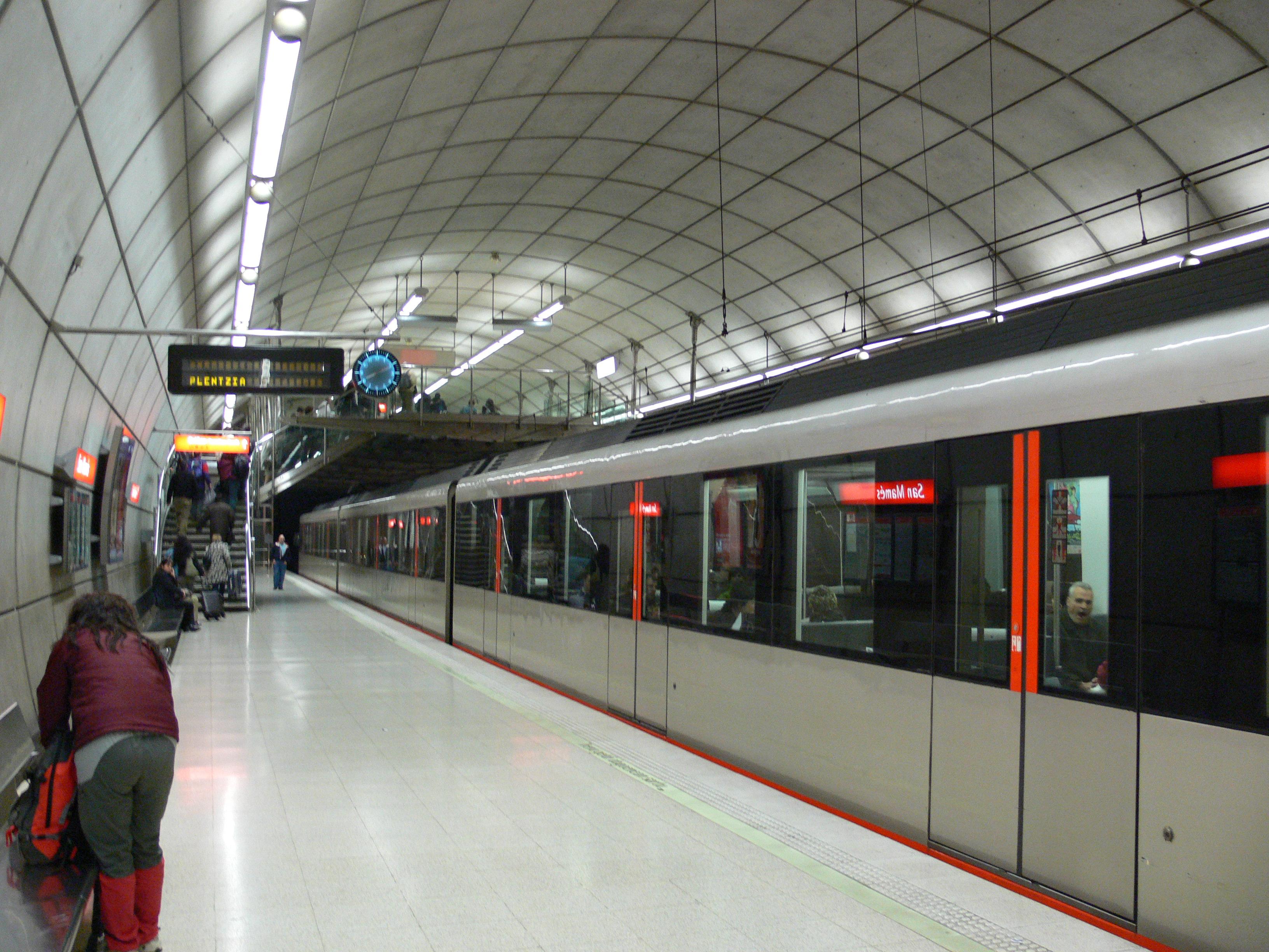 File metro bilbao san mam s wikimedia commons for Oficinas metro bilbao