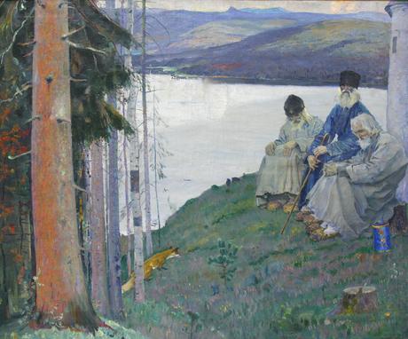 Три старца, 1915, Национальная картинная галерея Армении