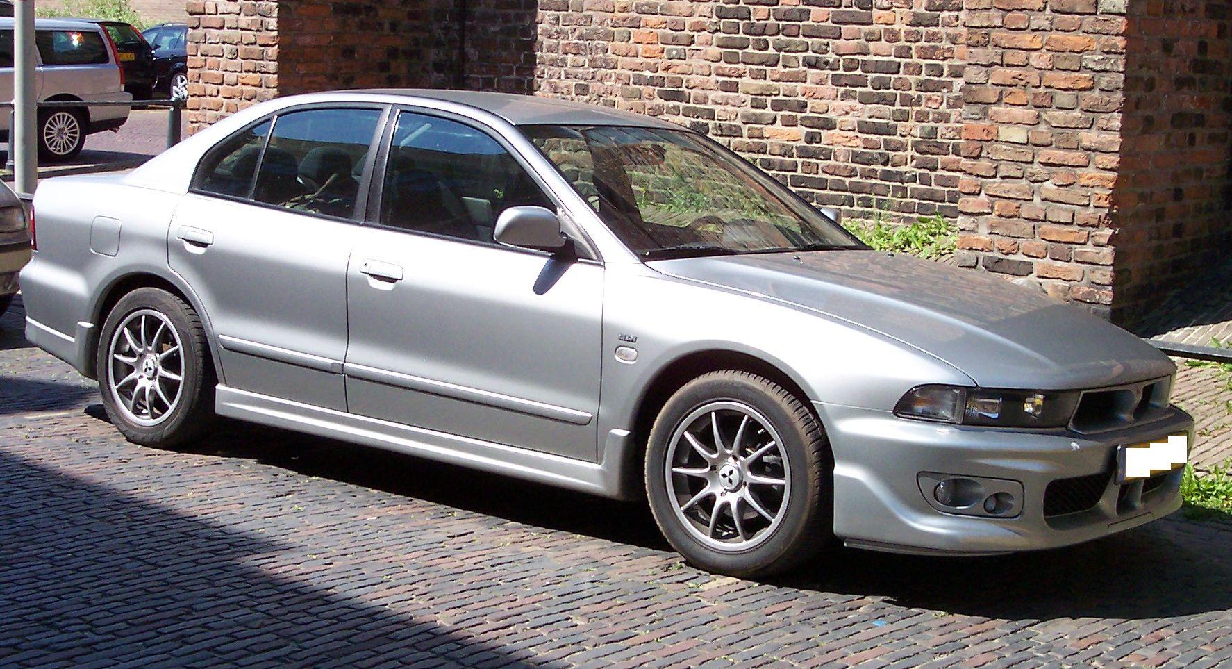 Mitsubishi Galant Silver
