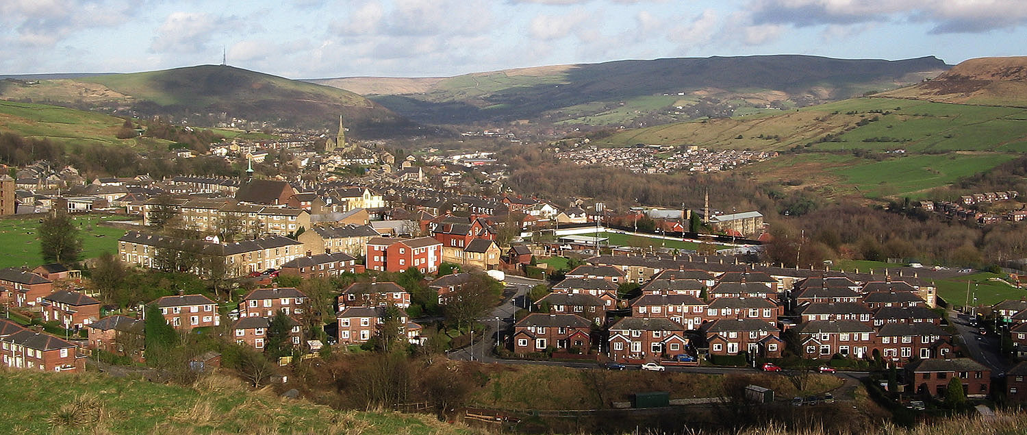 Mossley view