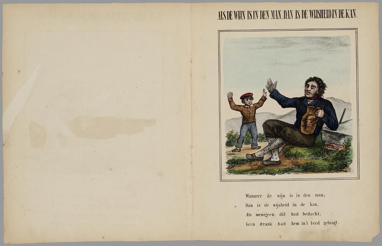 Filenederlandsche Spreekwoorden Prentenboek Voor Kinderen