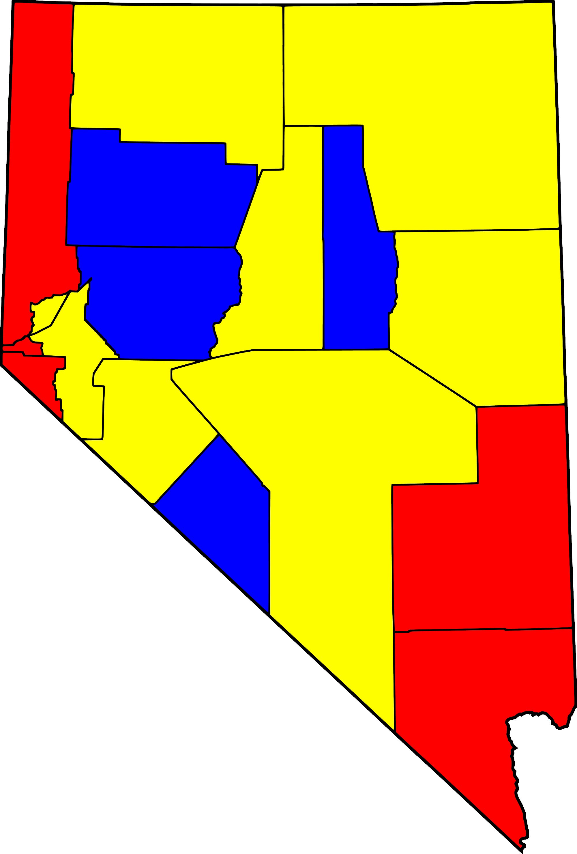 Legal brothels in nevada map