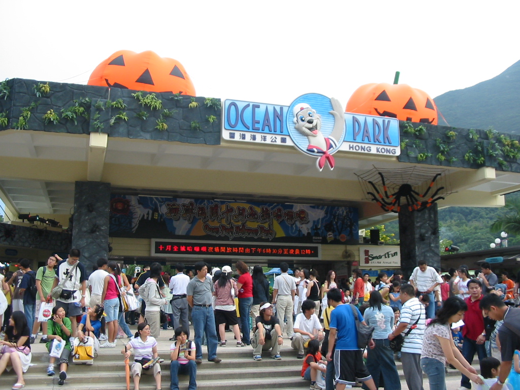 ocean park halloween Halloween fest 2017 at ocean park, hong kong - the largest halloween event in  the region - will feature 11 haunted attractions and 12.