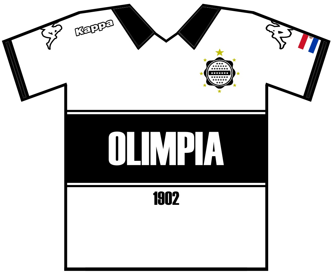 De Regalo Un Wallpaper Con La Camiseta De Olimpia 2012