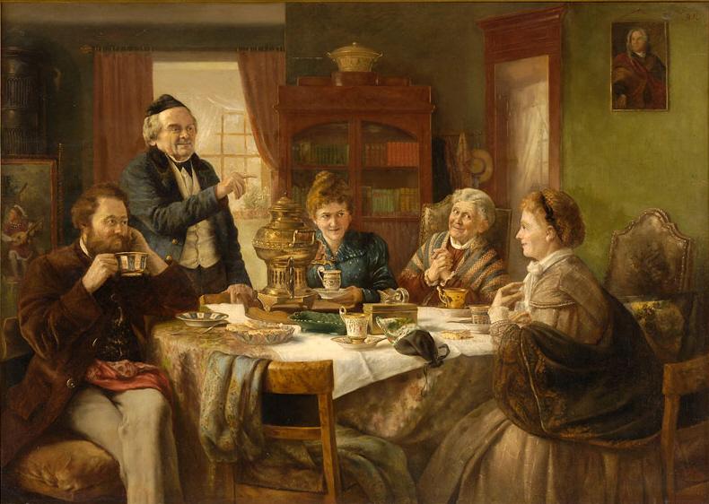Otto Goldmann Eine gesellige Runde 1887