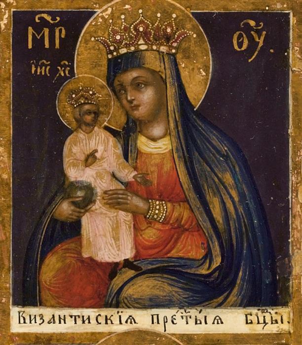 Иконы из византии доклад кратко 2036