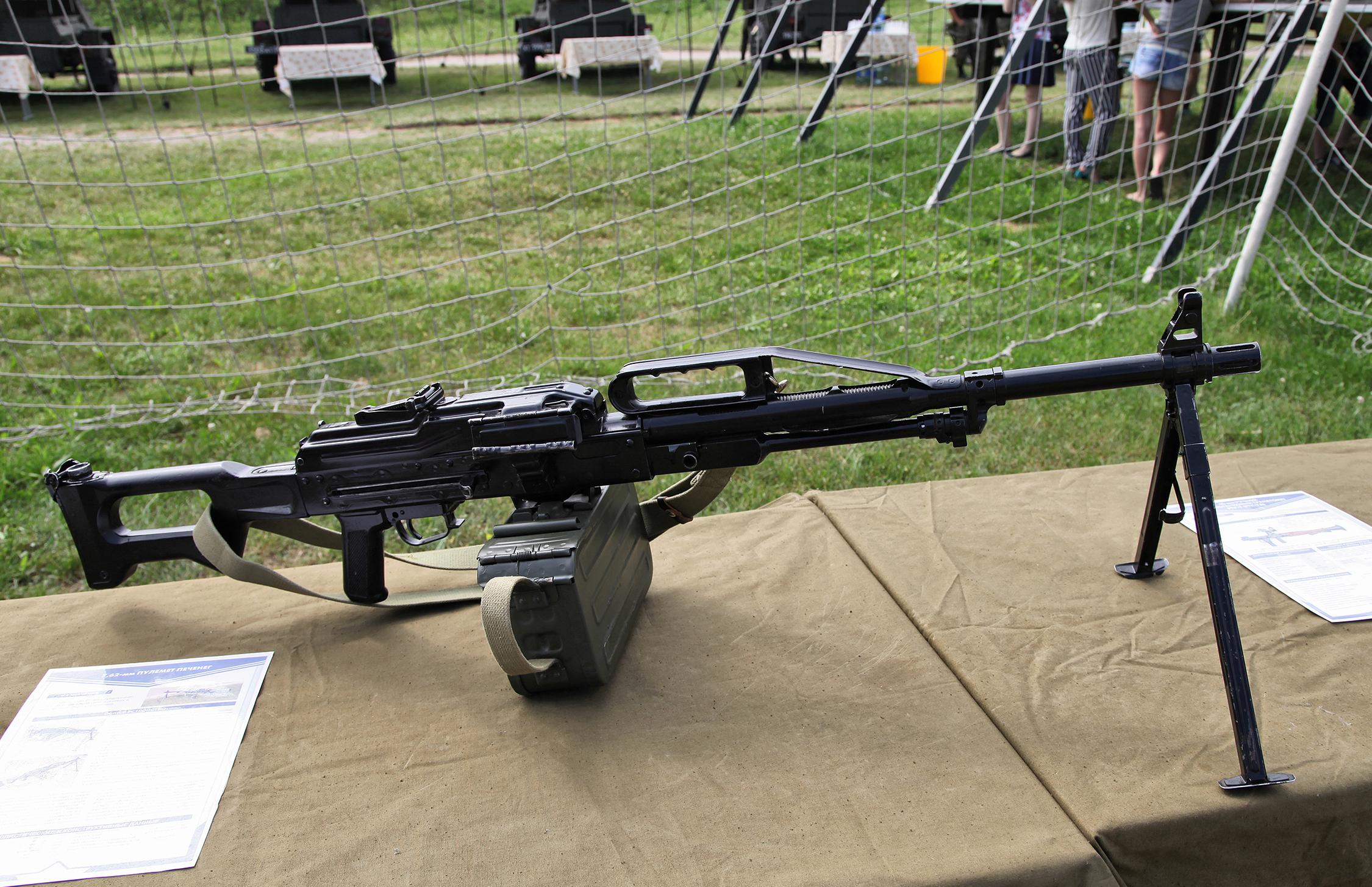 Пкп печенег - российский пулемет калибр 762-мм