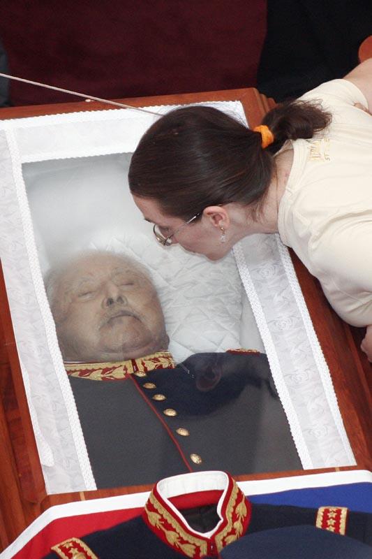 la muerte de pinochet: