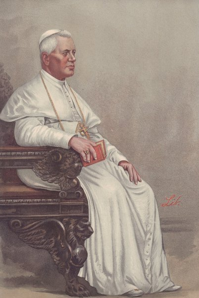 Pope Pius X Vanity Fair 10 December 1903