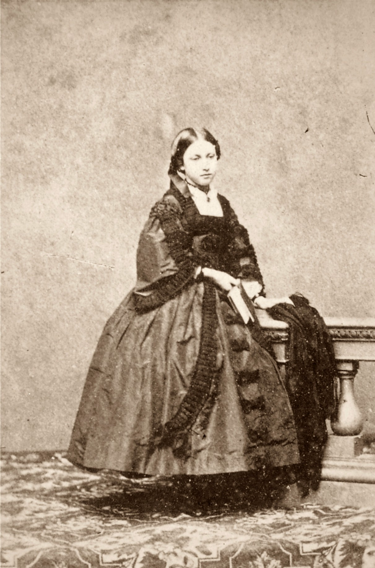 Princess Helena, May 1865, by Mayall