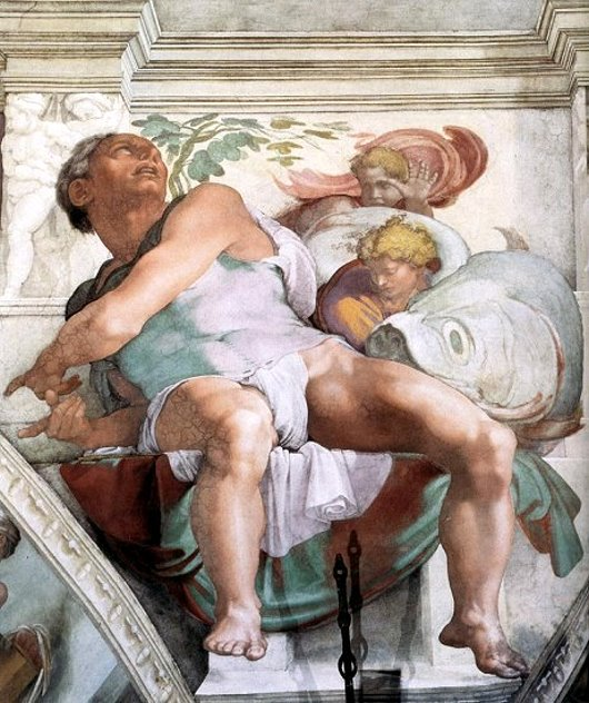 Image result for jonah sistine chapel