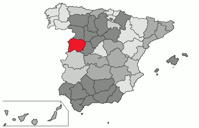 mapa de espanha salamanca Salamanca (província) – Wikipédia, a enciclopédia livre mapa de espanha salamanca