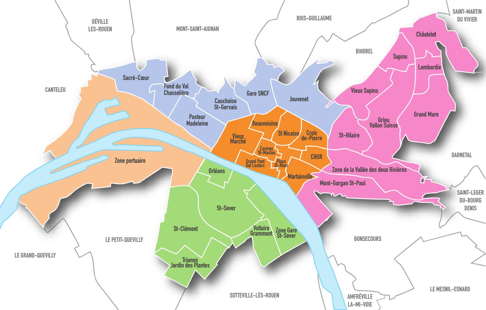 Plan Du Centre Ville D Arlon