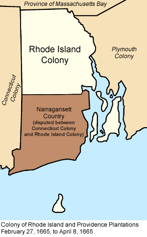 What Type Of Colony Was Rhode Island In