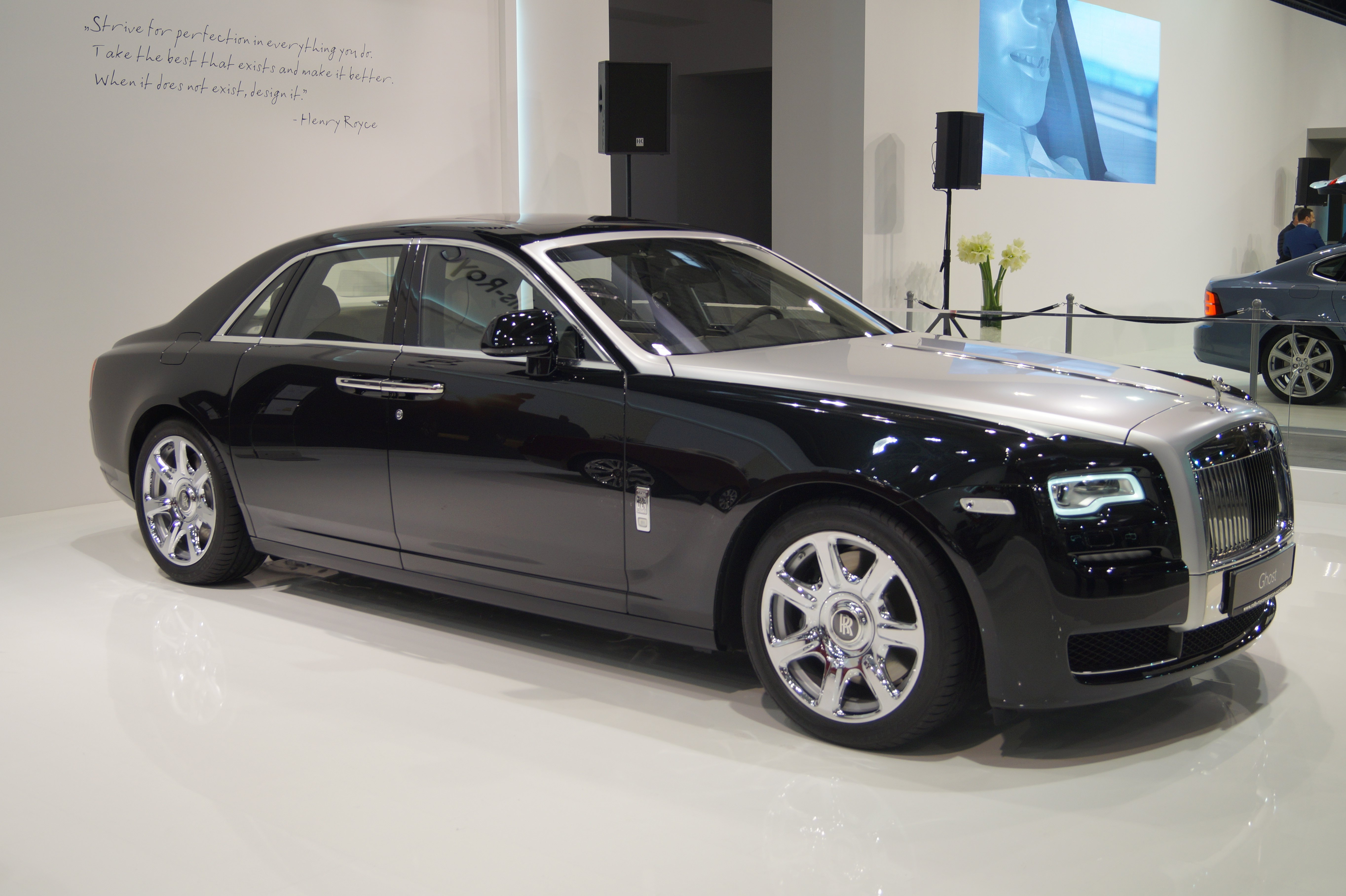 100 Royce Roll Royce Rolls Royce Wraith 2014