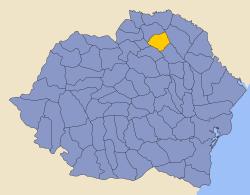Romania 1930 county Botosani