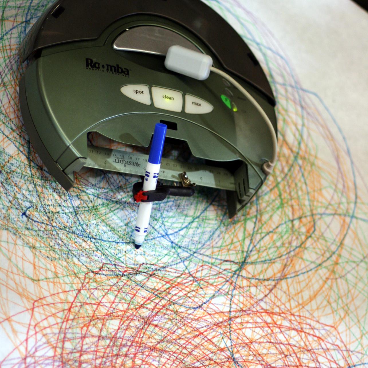 Roomba Spirograph Hack